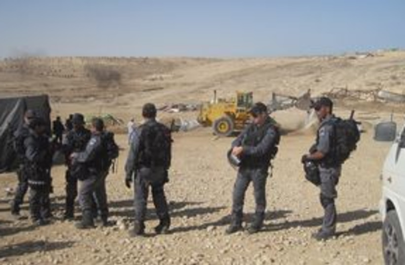 311_AlArakib border police (photo credit: Courtesy)