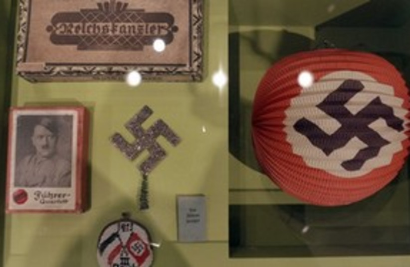 Nazi exhibition Berlin 311 AP (photo credit: Associated Press)
