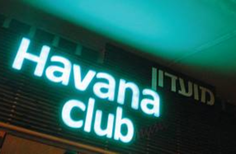 Havana nightclub Israel (photo credit: Yoni Cohen)