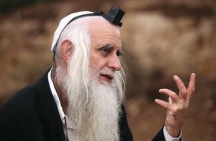 Rabbi Menahem Froman 311 (photo credit: Marc Israel Sellem)