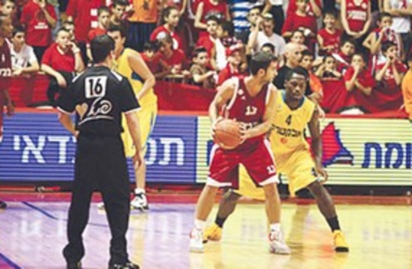 BSL League Cup 311 (photo credit: Maccabi Tel Aviv Website)