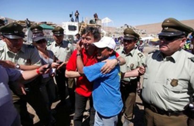 Chile Mine Rescue (photo credit: ASSOCIATED PRESS)