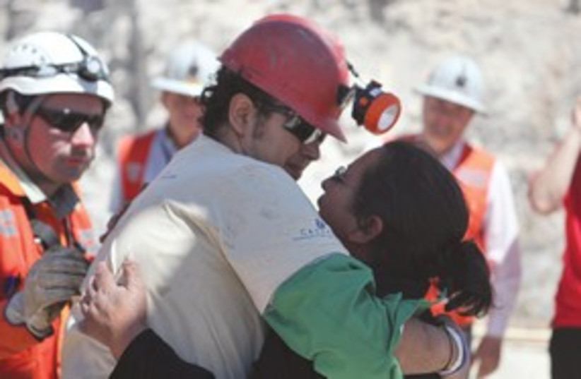 Chilean Miners 311 (photo credit: Associated Press)