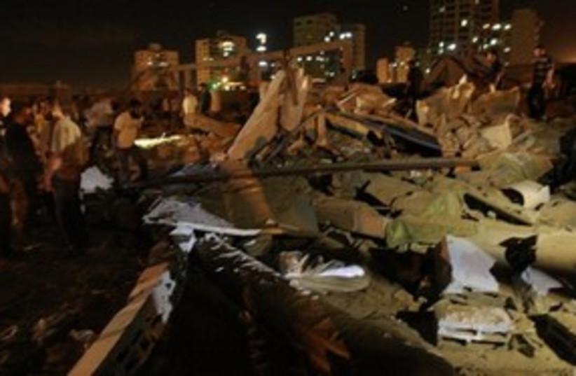 Gaza rocket strike 311 AP (photo credit: ap)
