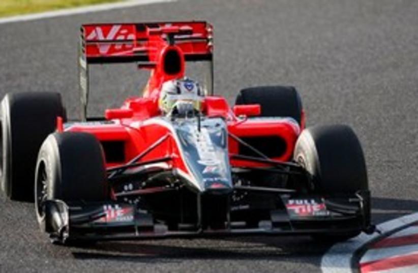F1, Formula 1 car (photo credit: AP Photo/Shuji Kajiyama)