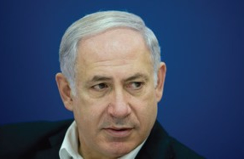 Netanyahu sweating 311 (photo credit: Courtesy)