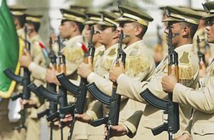 PA honor guard (photo credit: Majdi Mohammed/AP)