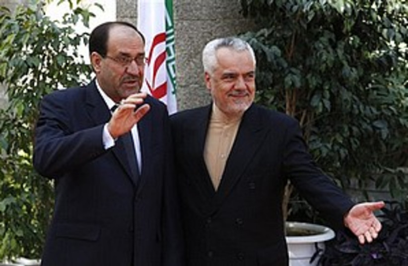 maliki and rahimi_311 (photo credit: ASSOCIATED PRESS)