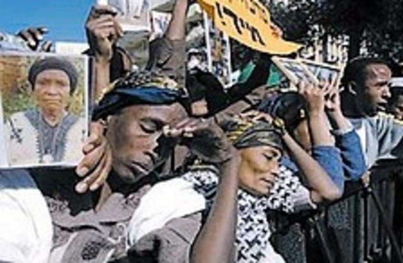 Ethiopians Jews 224.88 (photo credit: Ariel Jerozolimski)