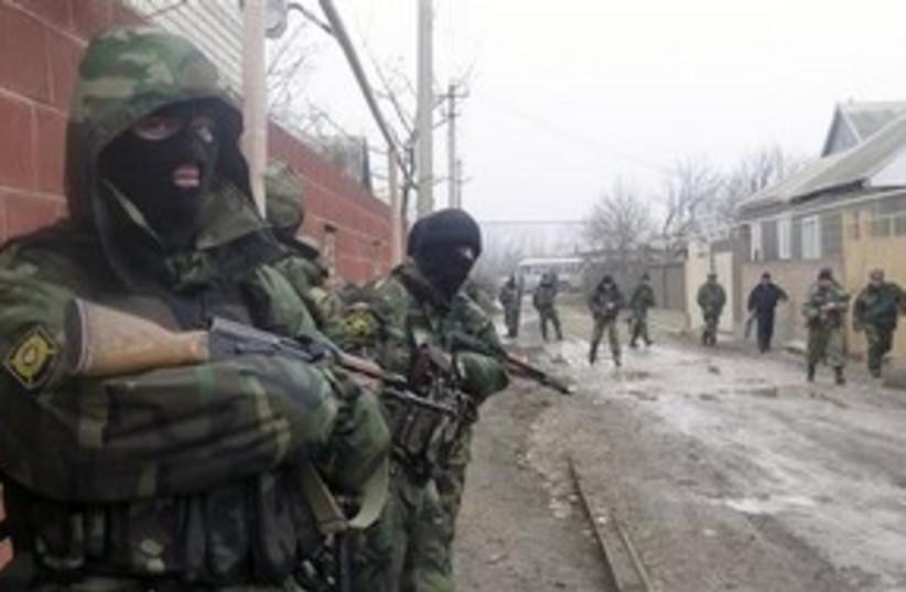 Chechen police AP 311 (photo credit: AP)