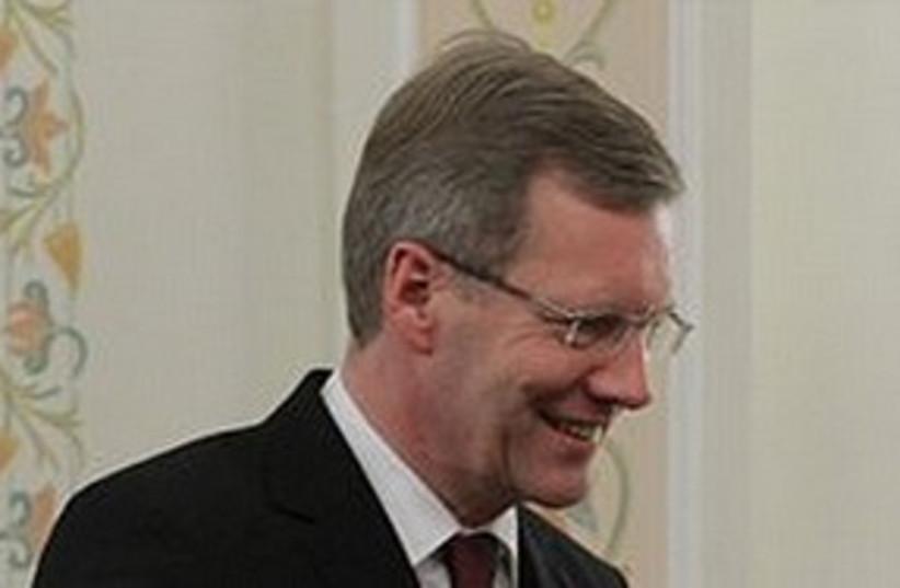 German President Christian Wulff (photo credit: ASSOCIATED PRESS)