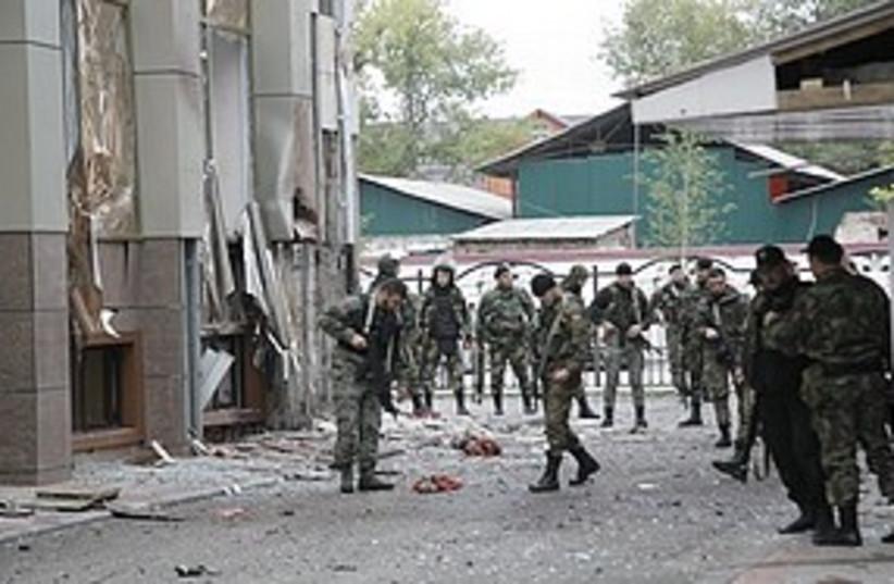 Chechnya terror attack (photo credit: ASSOCIATED PRESS)