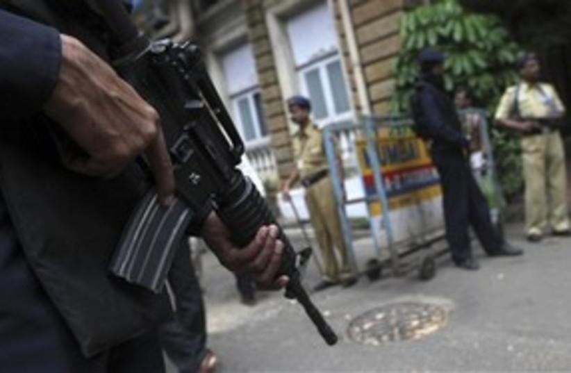 India Mumbai court guard 311 AP (photo credit: Associated Press)