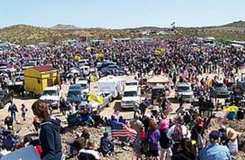 tea party rally US (photo credit: Mark Holloway/JTA)