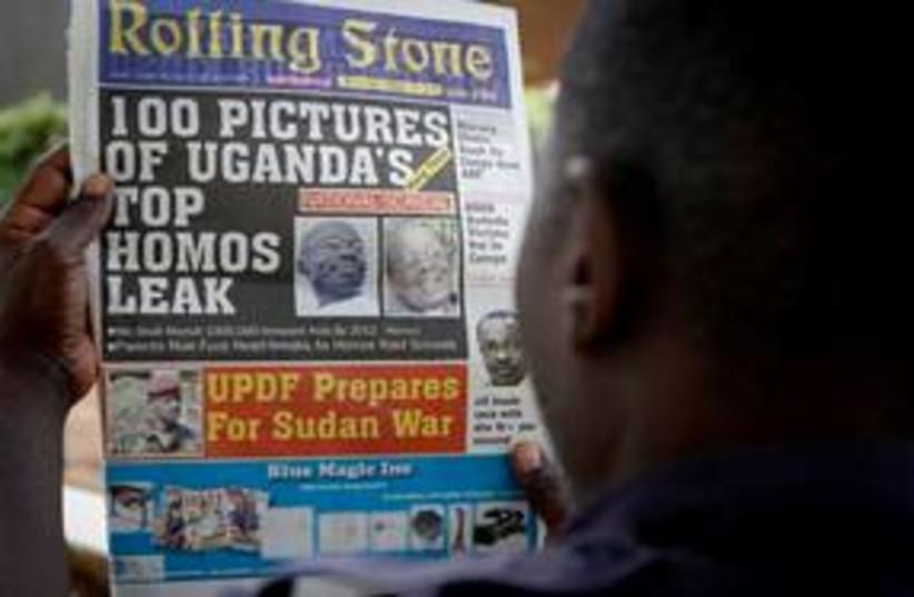 311_Uganda gaybashing (photo credit: Associated Press)
