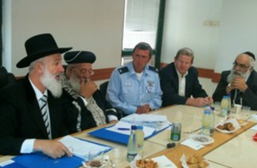 Rabbis meeting 311 (photo credit: Courtesy)