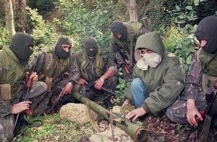 Hizbullah training 311 (photo credit: AP)