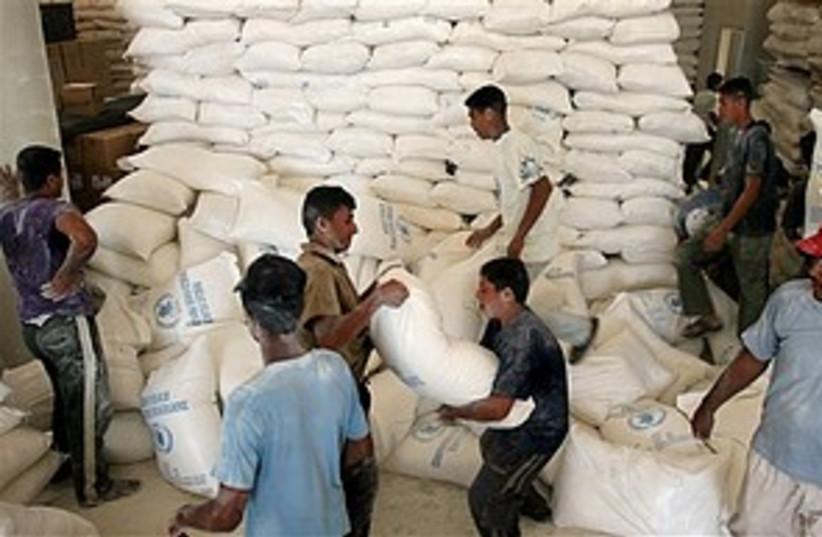 UN aid to palestinians 2 (photo credit: AP)