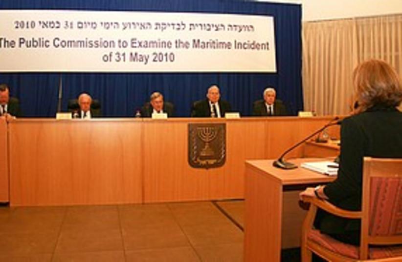 Livni Turkel testimony 311 (photo credit: Kadima spokesperson)