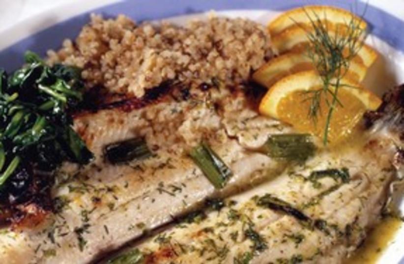 Fish dish 311 (photo credit: MCT)