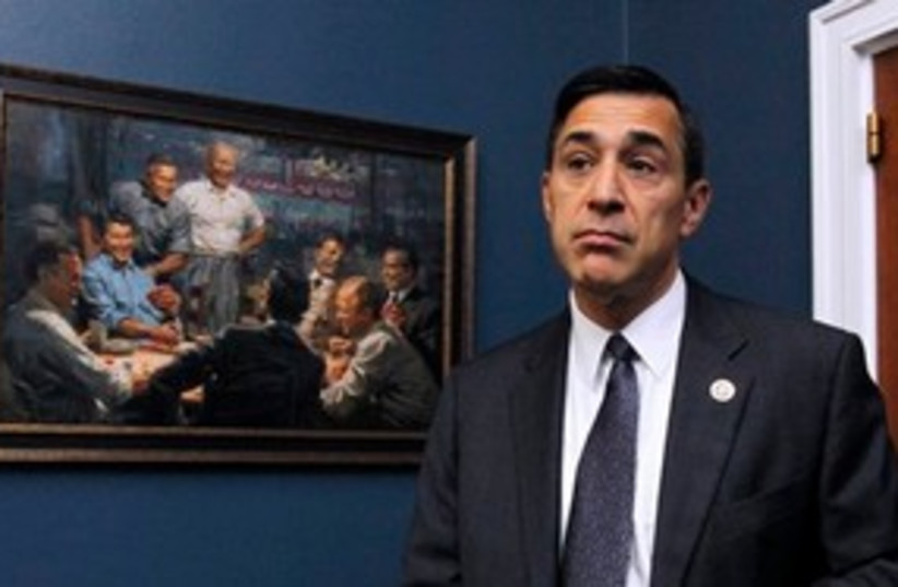 Darrell Issa 311 (photo credit: AP Photo/Manuel Balce Ceneta)