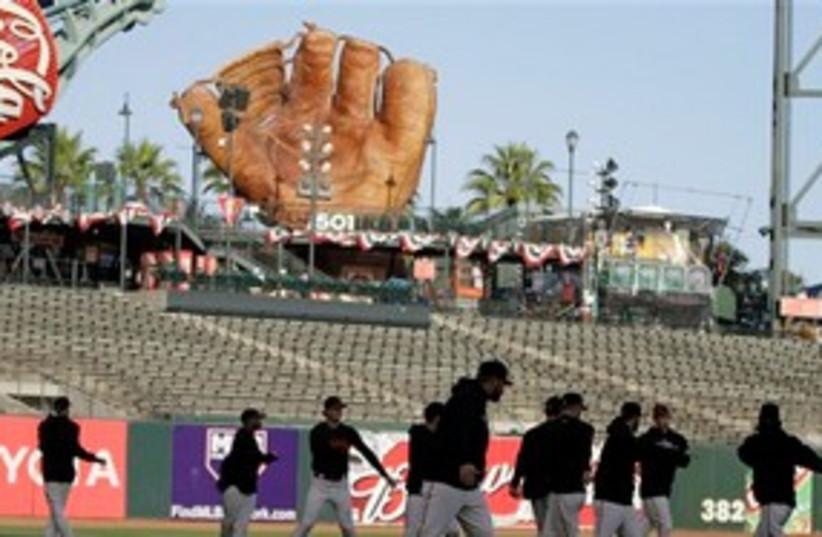 San Francisco Giants 58 AP (photo credit: AP)