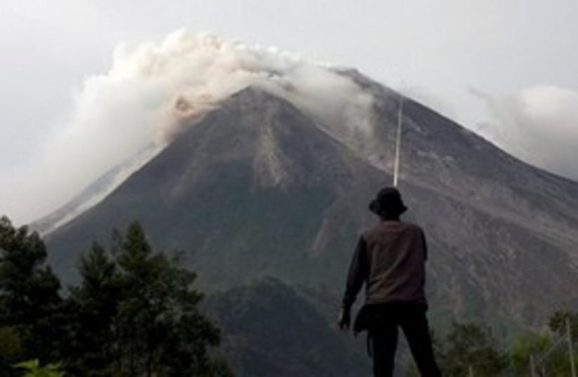 Indonesia Volcano 311 (photo credit: Associated Press)