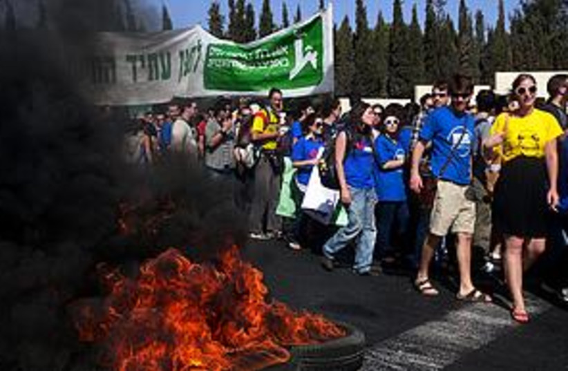 student protest_311 (photo credit: Marc Israel Sellem)