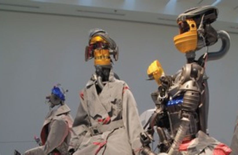 ROBOTS DESIGNED by Dai Fujiwara 311 (photo credit: Shai Ben-Efraim)