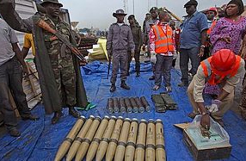 nigeria weapons 311 (photo credit: Associated Press)