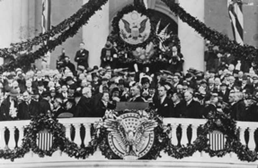 Franklin Delano Roosevelt inauguration 311 (photo credit: Library of Congress)
