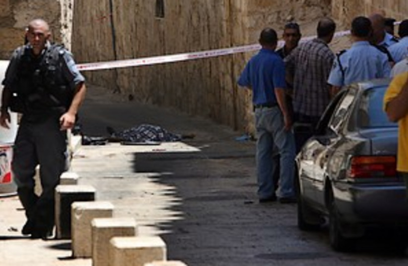 old city murder 298.88 (photo credit: Ahmad Gharbali)