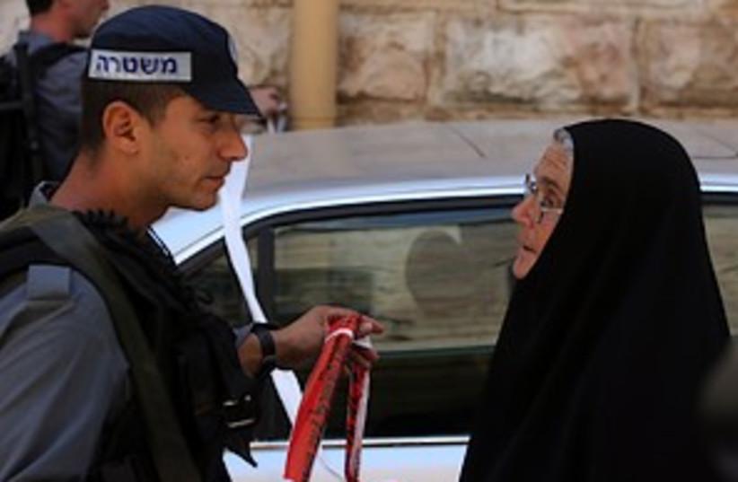 old city cop 298.88 (photo credit: Ahmad Garbali)