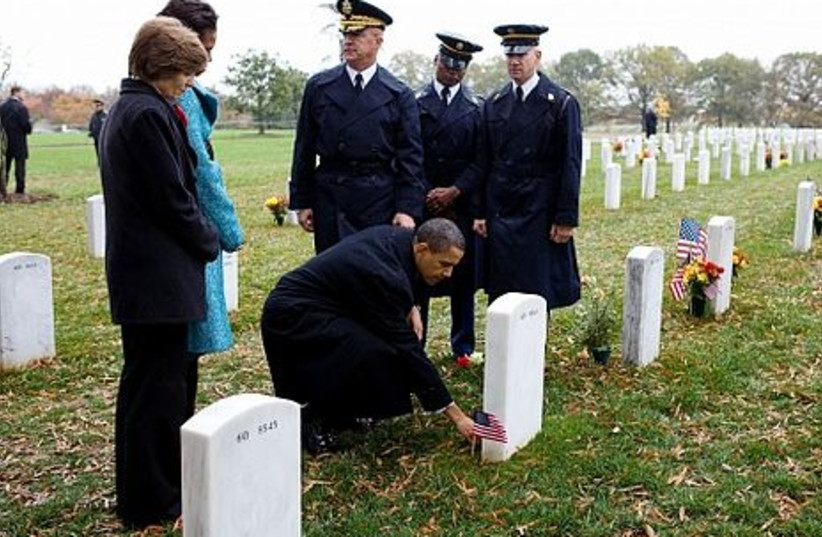 Obama at Arlington FOR GALLERY (photo credit: Official White House Photo by Pete Souza)