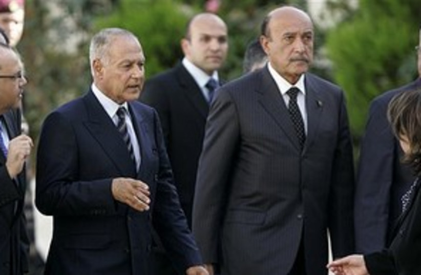 gheit and suleiman_311 (photo credit: ASSOCIATED PRESS)