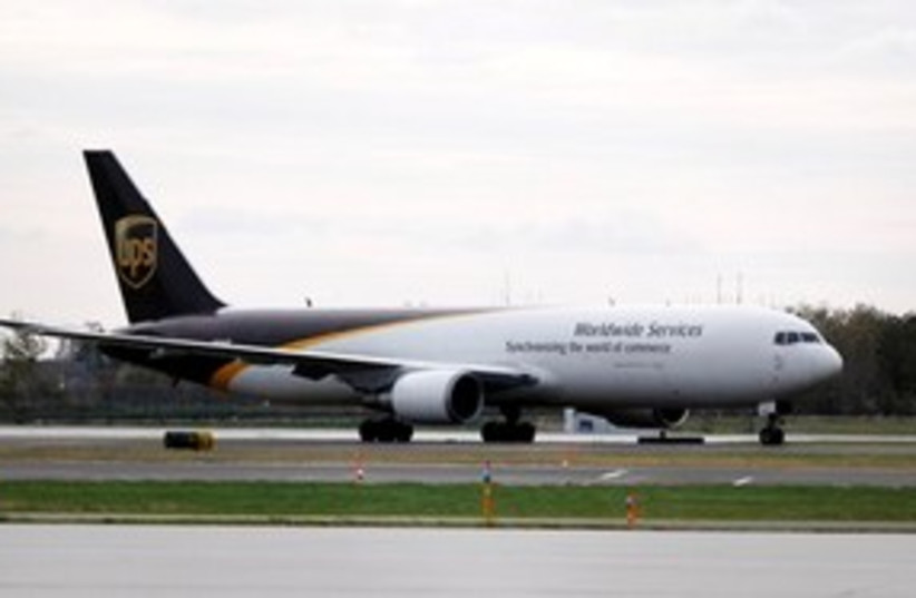 311_UPS airplane (photo credit: ASSOCIATED PRESS)