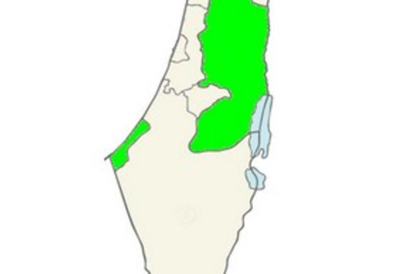israel map PA 298.88 (photo credit: Courtesy)