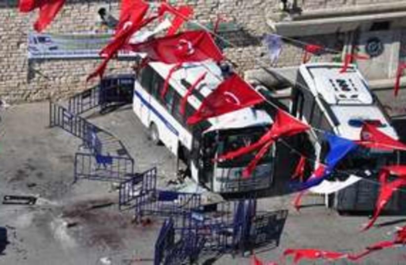 Istanbul suicide bomb 311 (photo credit: AP Photo/Hurriyet)