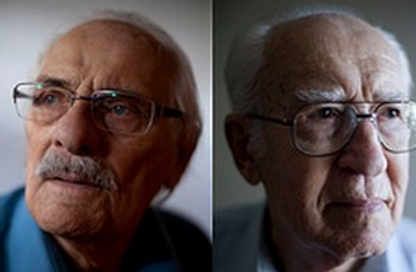 Holocaust survivors 311 (photo credit: Associated Press)