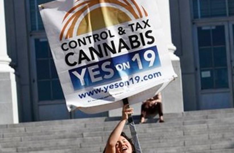 California Proposition 19 supporter