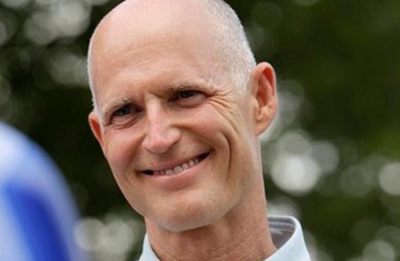 Florida candidate for governor Rick Scott (R)
