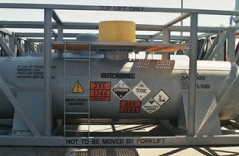 BROMINE heavily reinforced containers 311 (photo credit: Courtesy)