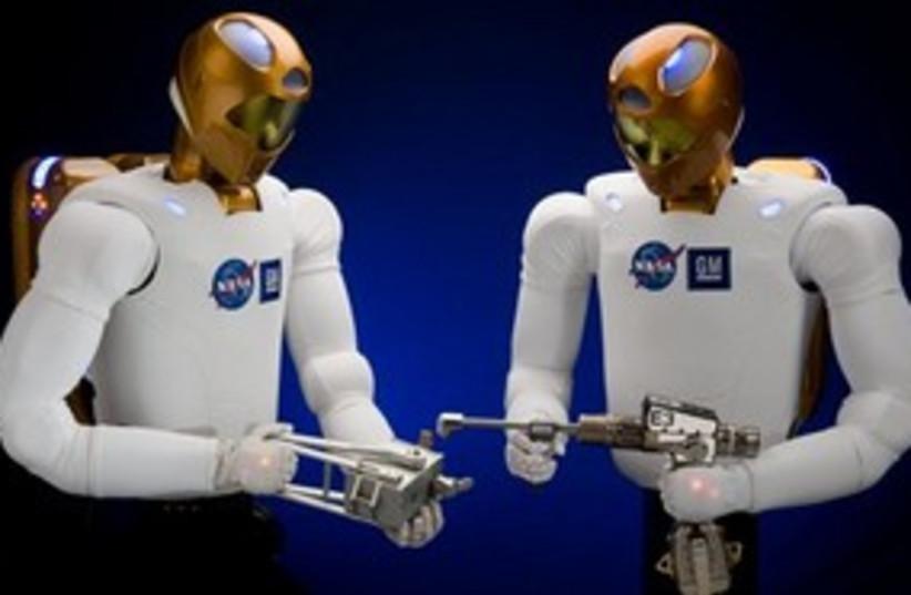 Nasa robots 311 (photo credit: ASSOCIATED PRESS)