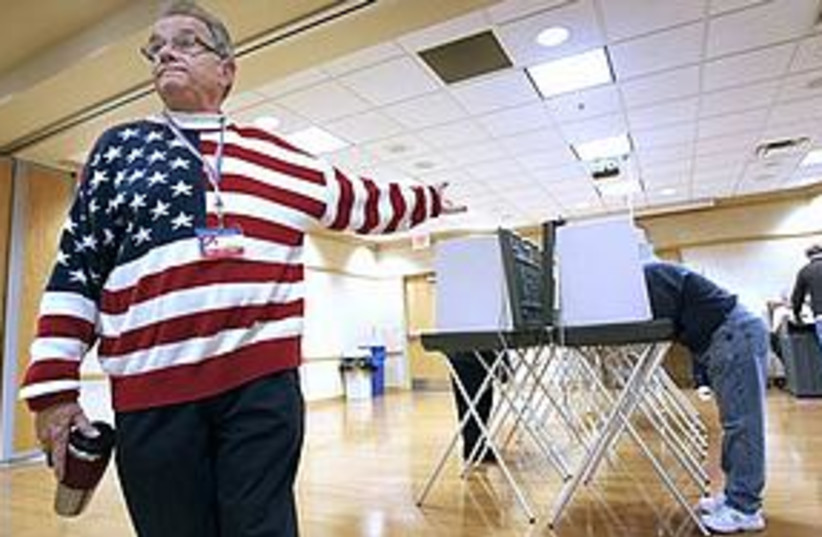 Vote midterms (photo credit: ASSOCIATED PRESS)