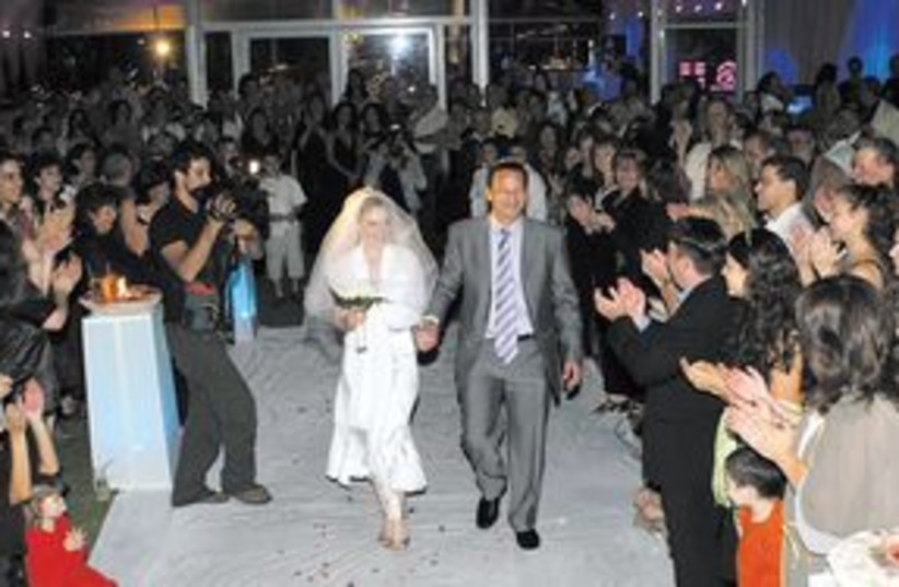Jewish wedding 311 (photo credit: Ariel Jerozolimski (illustrative))