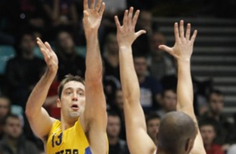 Maccabi Tel Aviv Chuck Eidson 311 (photo credit: Courtesy)