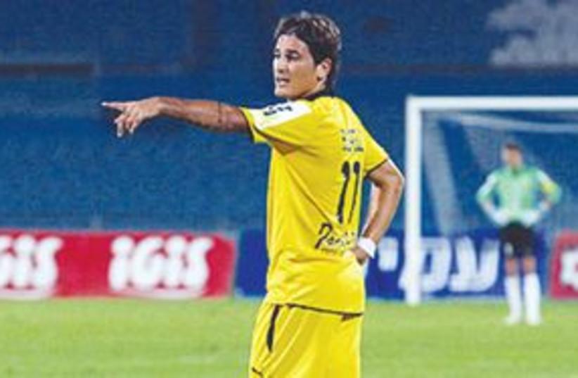 Maor Buzaglo 311 (photo credit: Maccabi Tel Aviv website)