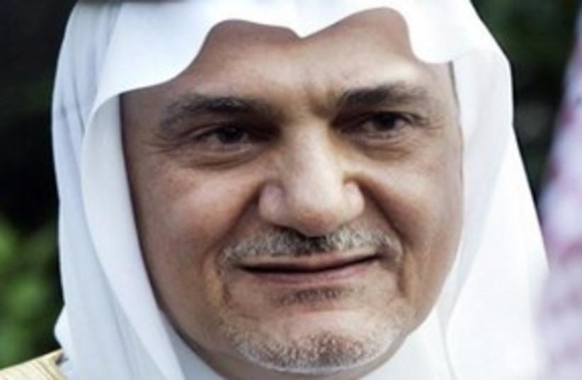 Turki al-Faisal (photo credit: AP)