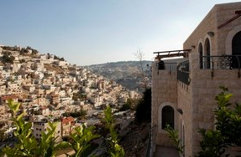 311_Jewish home in Silwan (photo credit: ASSOCIATED PRESS)