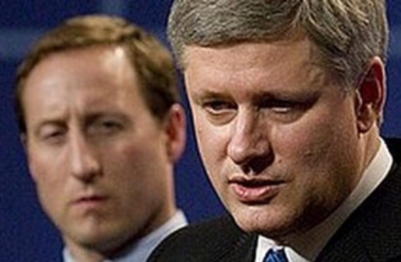 Canadian PM Harper (photo credit: ASSOCIATED PRESS)